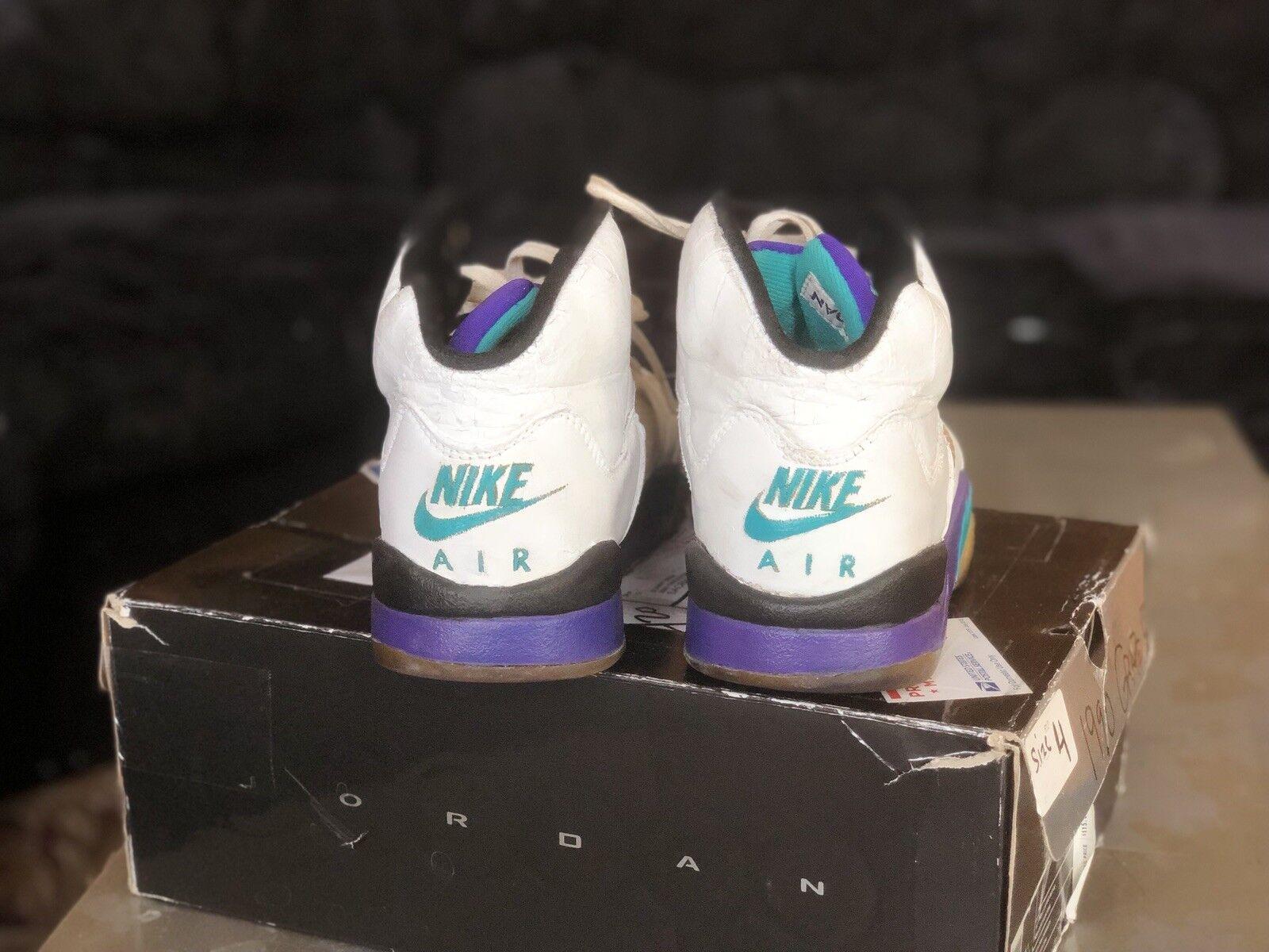 1990 Jordan Grape 5 Og Authentic Original Vintage