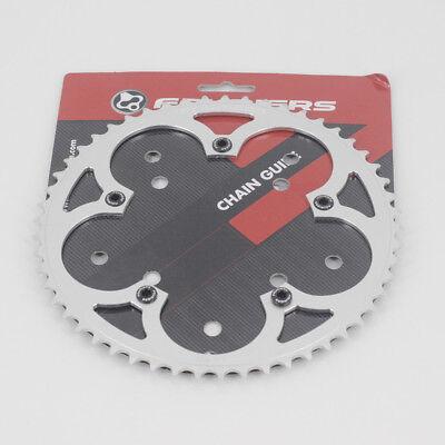 New Zoagear Single Speed Chainring 130 BCD 46 Teeth Track Fixed Gear Bike Black