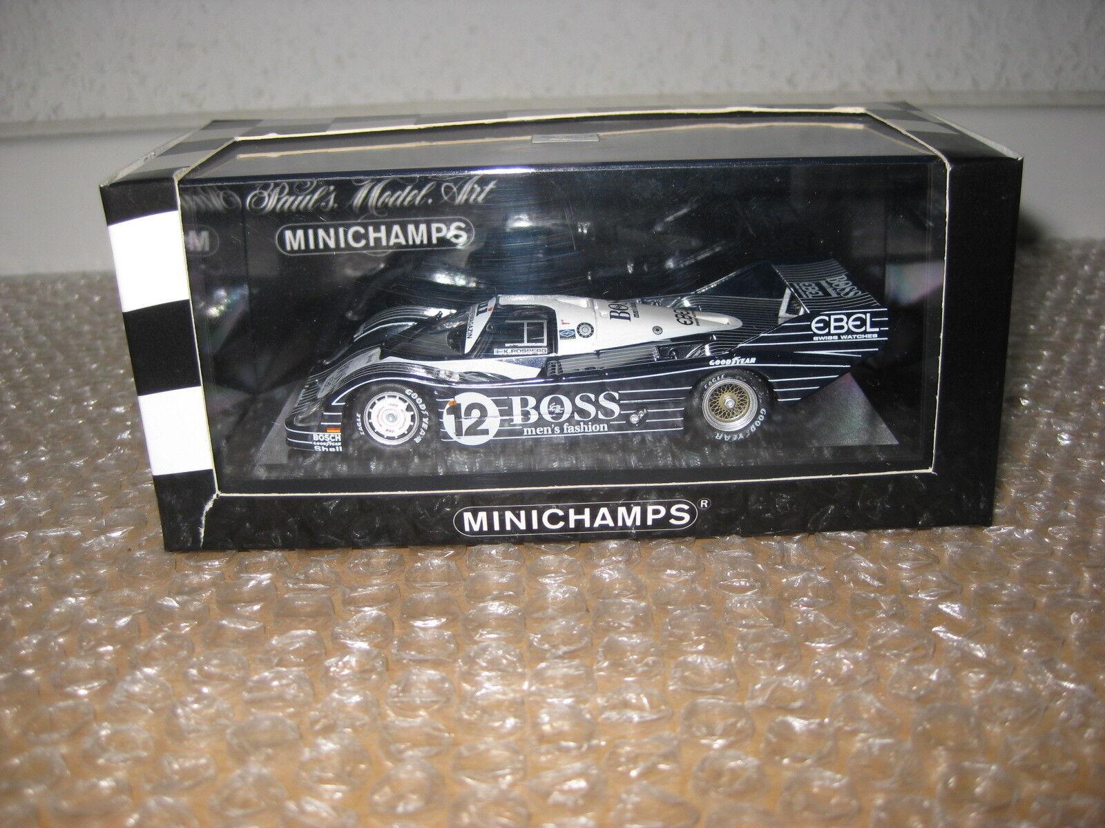 Minichamps 1 43 Porsche 956k 1983 K. rosberg nº 430836612 q848