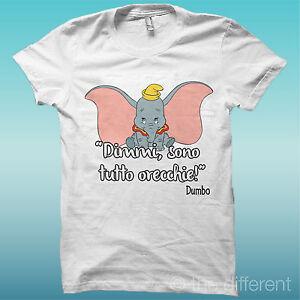 T-Shirt Uomo Citazione Dumbo Sono Tutto Orecchie Idea Regalo Vêtements et accessoires