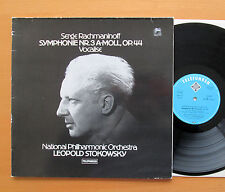 Rachmaninov Symphony no. 3 Vocalise Stokowski Telefunken 6.42613 AW Stereo NM/VG