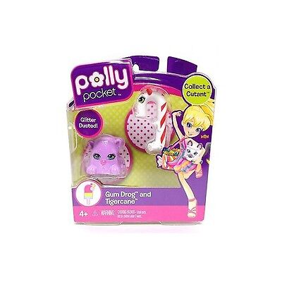 To Be Renowned Both At Home And Abroad For Exquisite Workmanship Skillful Knitting And Elegant Design Polly Pocket T3548/t3554 Gum Drog & Tigercane Figures Neu & Ovp