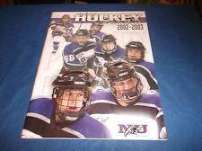 2002-03 Niagara University Purple Eagles Women's Ice Hockey Guide