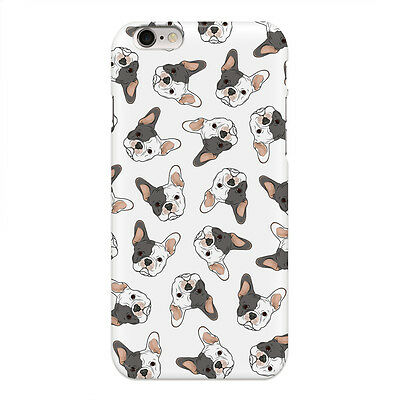 disguised White & Grey French Bulldog Pattern Animal Phone Case Cover All Models
