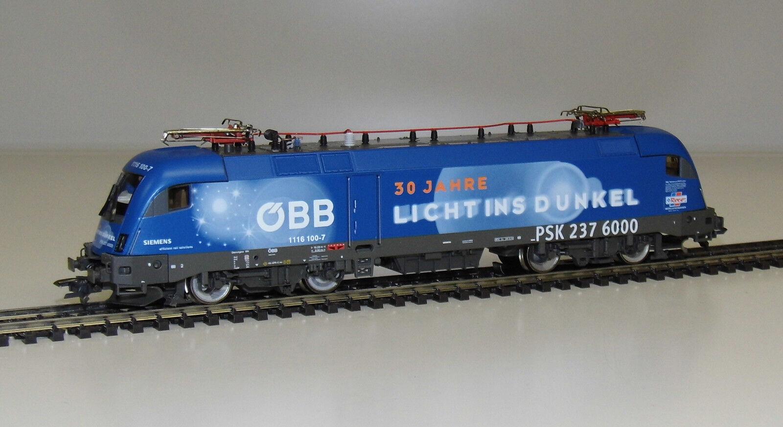 Roco 69675 H0 Elektrolokomotive Rh 1116 100-7 der ÖBB  Licht ins Dunkel  NEU-OVP