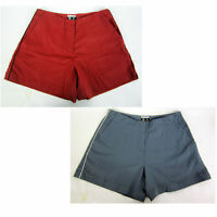 Womans Adidas Golf Tech Shorts With Contrast Color Side Piping,inseam 5,736060