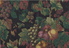 Assorted Fruits on the Vine on Black Background Wallpaper - 30971250