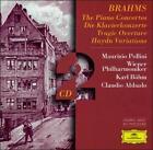 Brahms: Piano Concertos; Variations on a Theme of Haydn; Tragic Overture (CD, Jun-1997, 2 Discs, DG Deutsche Grammophon)