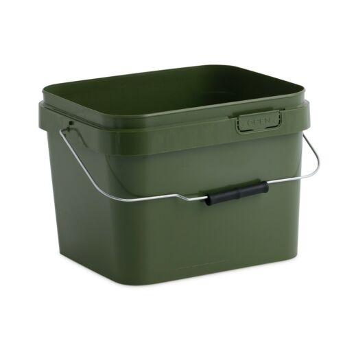 10 L vert seau NGT Pêche à La Carpe Dynamique Amorce 900 g Sacs appâtage Spoon