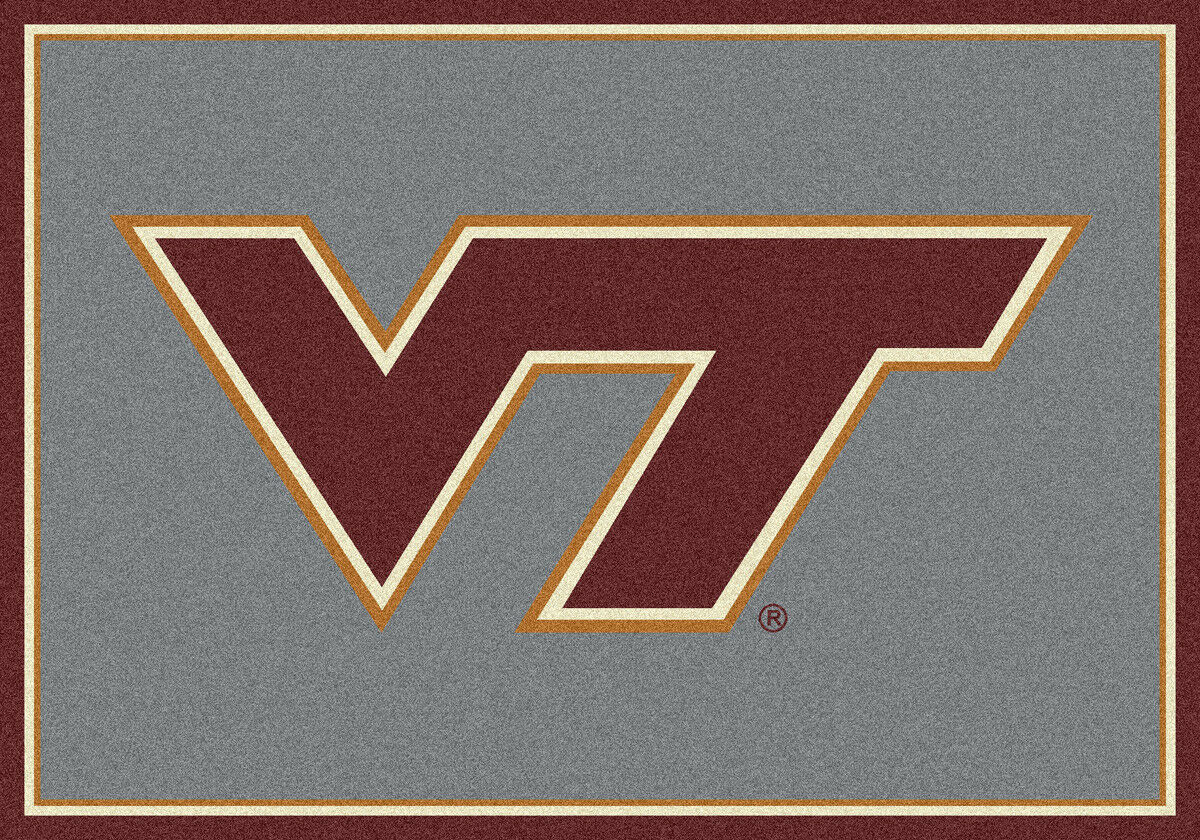 4x6 Milliken Virginia Tech Tech Tech Hokies NCAA Spirit Area Rug - Approx 3'10 x5'4  d25ad8