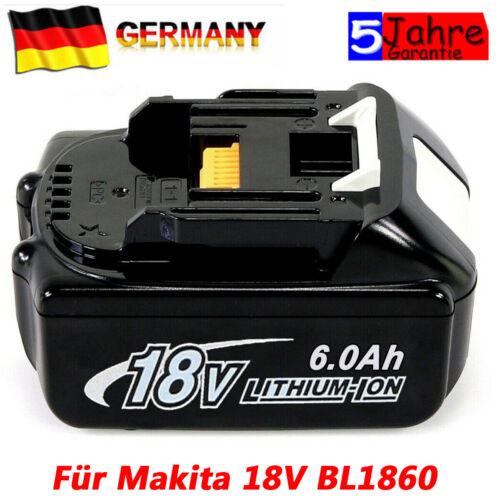 BL1860 Für Original Ersatzakku Makita 18V 6,0AH LXT Li-ion BL1850 BL1840 BL1830