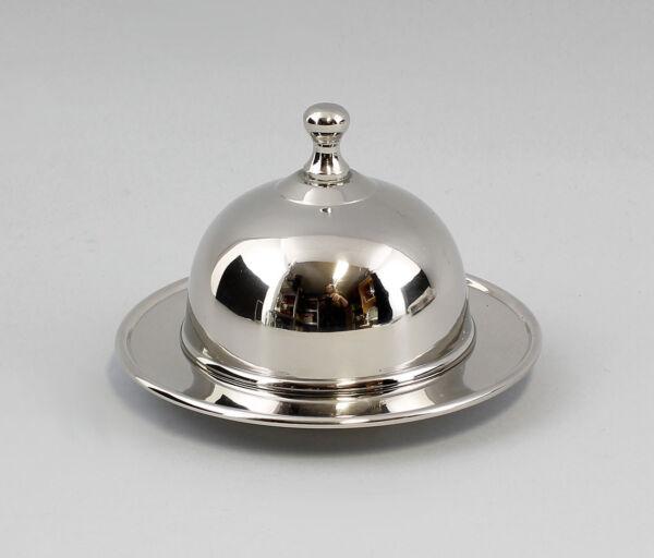 9977104 Silber-farbene Mantequillera Redondo Niqueladas 14x8cm Diversificado En Envases