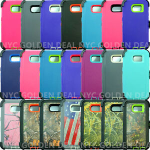 For-Samsung-Galaxy-S6-Defender-Case-Cover-w-Belt-Holster-Clip-Fits-Otterbox