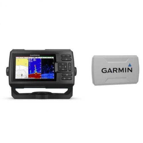 Garmin Percuteur Plus 5cv Sondeur Avec GT20-TM Transducteur Et Protection Housse