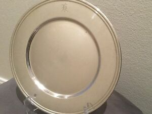 BREAD-AND-BUTTER-PLATES-Sterling-Silver-Set-of-12