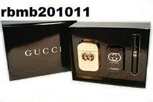 d2d5164b01b27 GUCCI GUILTY By GUCCI Perfume For WOMEN 3PC GIFT SET 2.5 + LOTION + ...