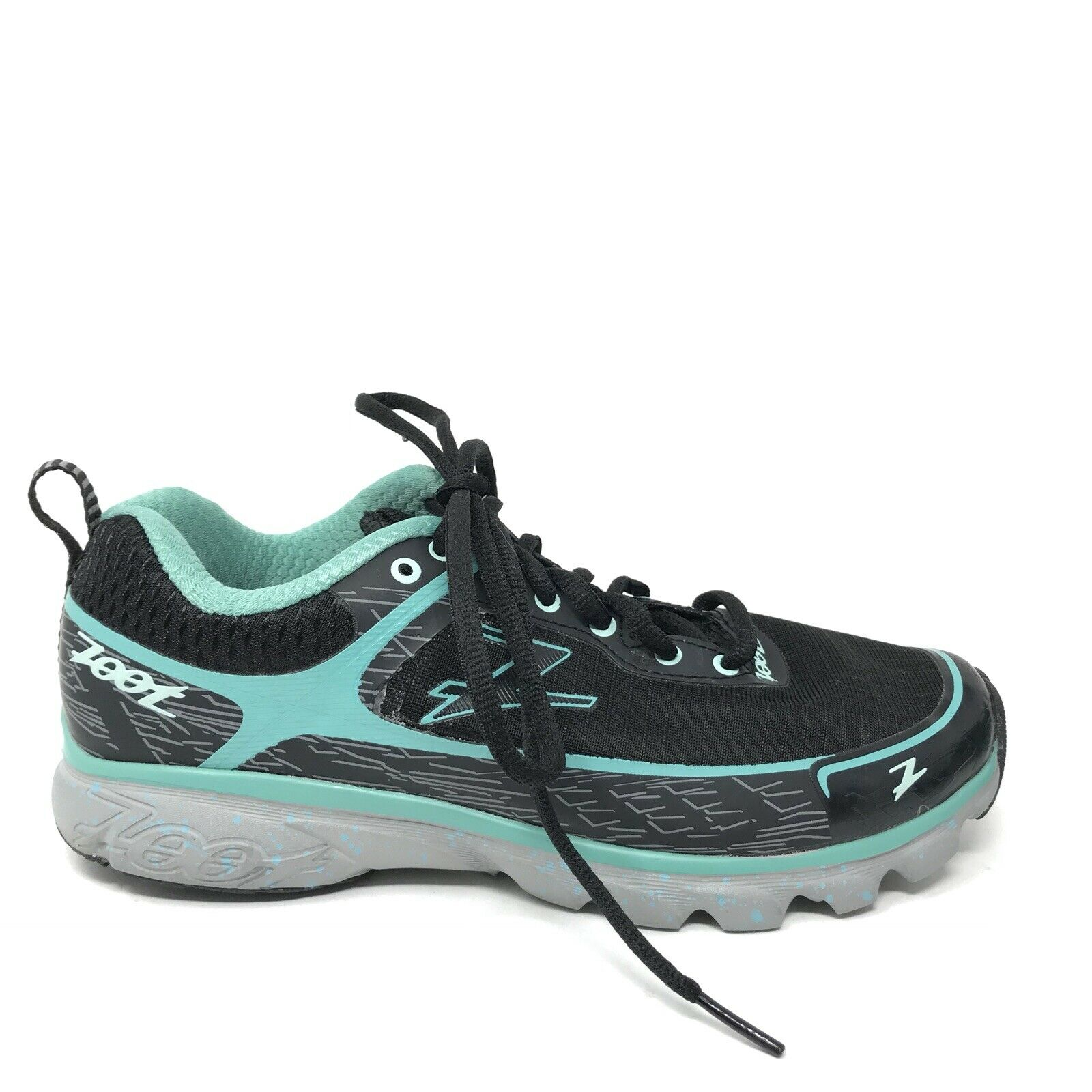 Zoot Women's Size 7 Solana ACR Running shoes Black Lagoon Lace Up Sneakers