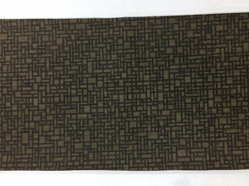 FAUX LEATHER FABRIC CHOCOLATE Leatherette Designer Vinyl Upholstery Material FR