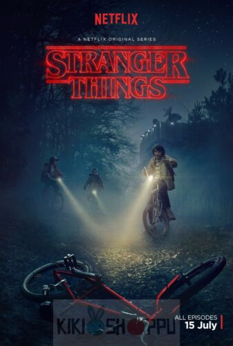 Poster A3 Stranger Things Serie Cartel Decor Impresion 01