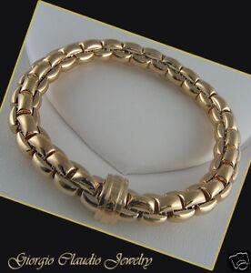 Image Is Loading Fope Bracelet 18kt Yellow Gold Flex 039 It