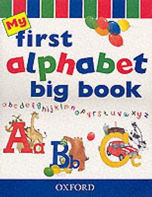 My First Alphabet Book: Big Book by