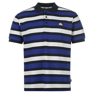 Neuf Taille Grand Du S au XL Polo Homme LONSDALE