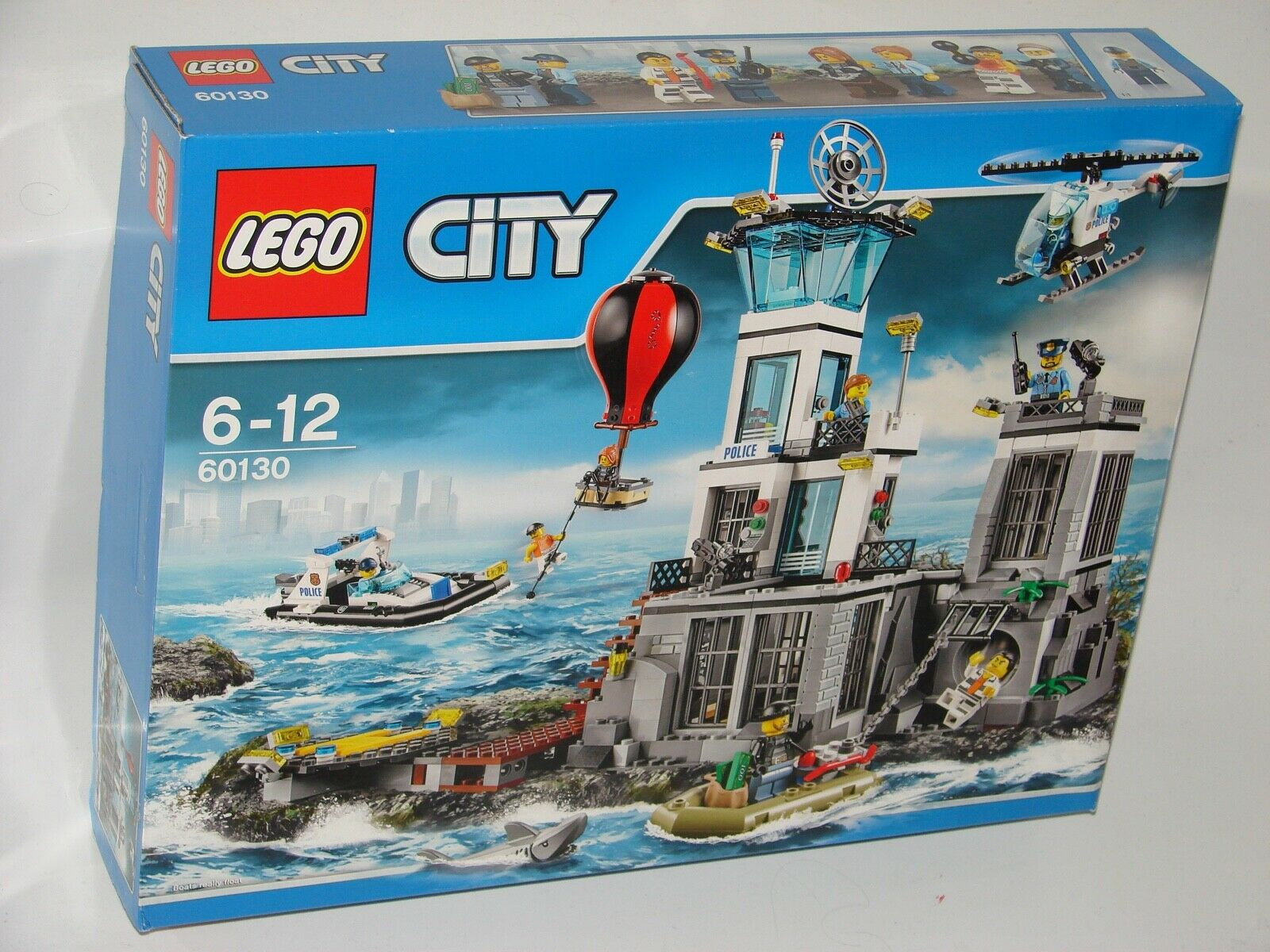 Lego ® City 60130 Prison Island nuevo 2tew_ New 2nd Choice water damage