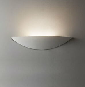 Astro slice led plaster ceramic wall light uplighter 35w warm white image is loading astro slice led plaster ceramic wall light uplighter aloadofball Choice Image