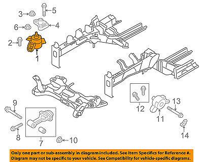 HYUNDAI OEM 11-15 Elantra-Engine Motor Mount/Torque Strut 21810A5000   eBayeBay