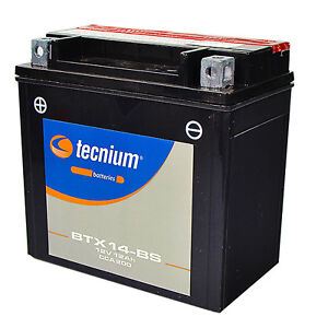 Batteria BTX14-BS Cagiva Elefant 750 Tecnium 1 Anno di garanzia