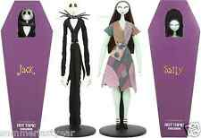The Nightmare Before Christmas JACK And SALLY Limited Edition Figurine Doll Set
