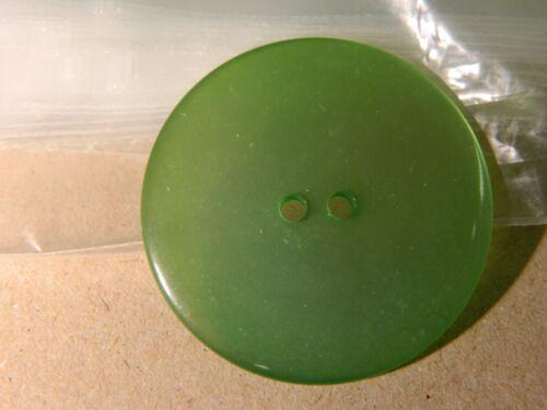10 PC nuevo 1 1//2 Pulgadas Acabado Perla Botones Verde Esmeralda