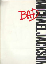 "MICHAEL JACKSON ""BAD"" VIDEO PRESS KIT PRESS PHOTO COLOR SLIDES LOT OUT OF PRINT"