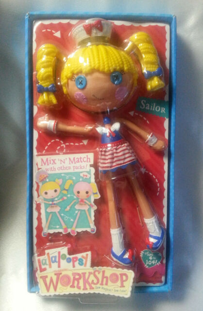 Lalaloopsy Doll Sailor Blonde Workshop Mix N Match