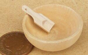Dollhouse Miniature 1:12 Toy Kitchen Metal Pink Heart Shape Pot L3.2cm SPO319