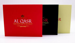 NEW-Al-Qasr-Perfume-Set-of-10-Bottles-Gift-Set-Stainless-Steel-rollers-variety