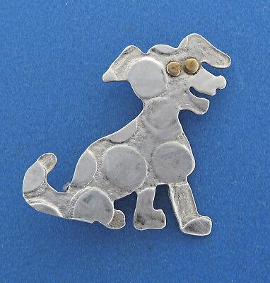 Vintage Christmas Dog Brooch by \u00a9COREL