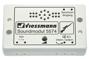 Viessmann-5574-Modulo-de-Sonido-Caza-Nuevo