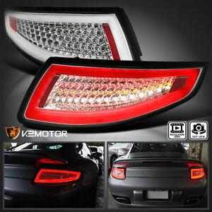 For 2005-2008 Porsche 911/997 Carrera Targa GT3 GT2 Turbo Clear LED Tail Lights