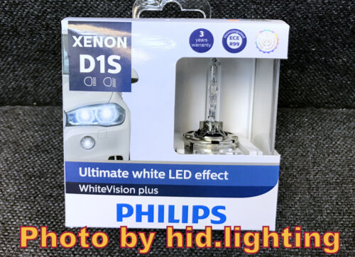 Philips Xenon D1S White Vision gen2 85415WHV2C1 5000K+120/% Ultimate LED effect