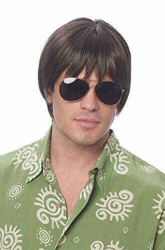 Costume Culture Dude 70s Hippie Surf Brown Wig Halloween Costume Accessory 21096