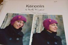 Woolly Wormhead Hat Knitting Pattern Karenin