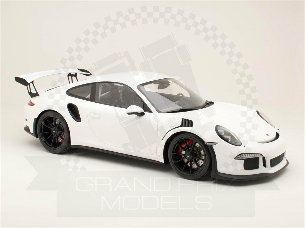 Spark 12S006 Porsche 991 GT3 RS 2016 White 1 12 resin