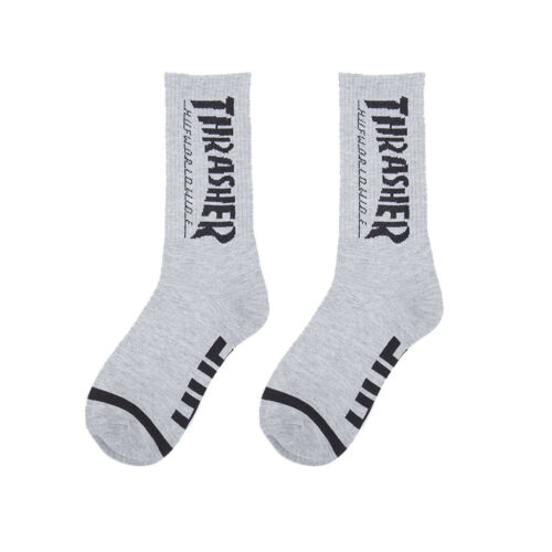 College Style Tide Men/'s Cotton Winter Hip Hop Personality Letter Thick Socks