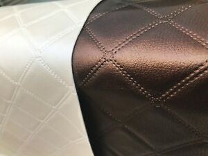 CREAM HEAVY DUTY UPHOLSTERY FAUX LEATHER// VINYL//FABRIC//LEATHERETTE//MATERIAL