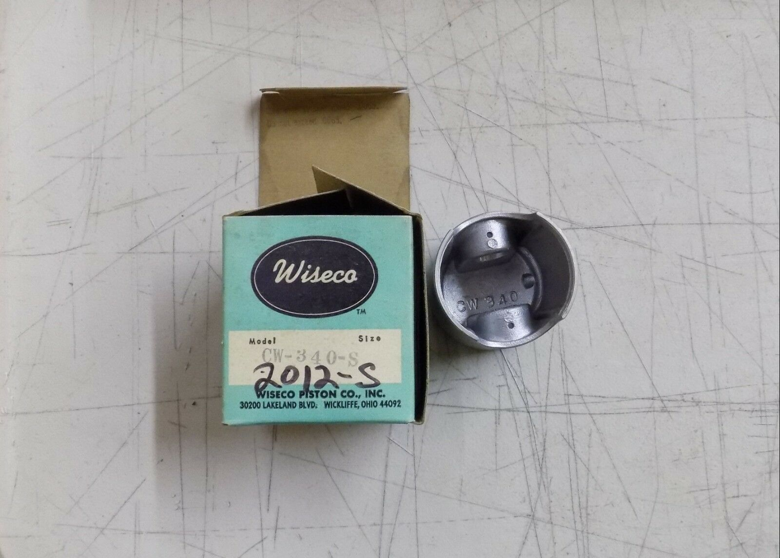 Wiseco Snowmobile Pistons Vintage (Select One)