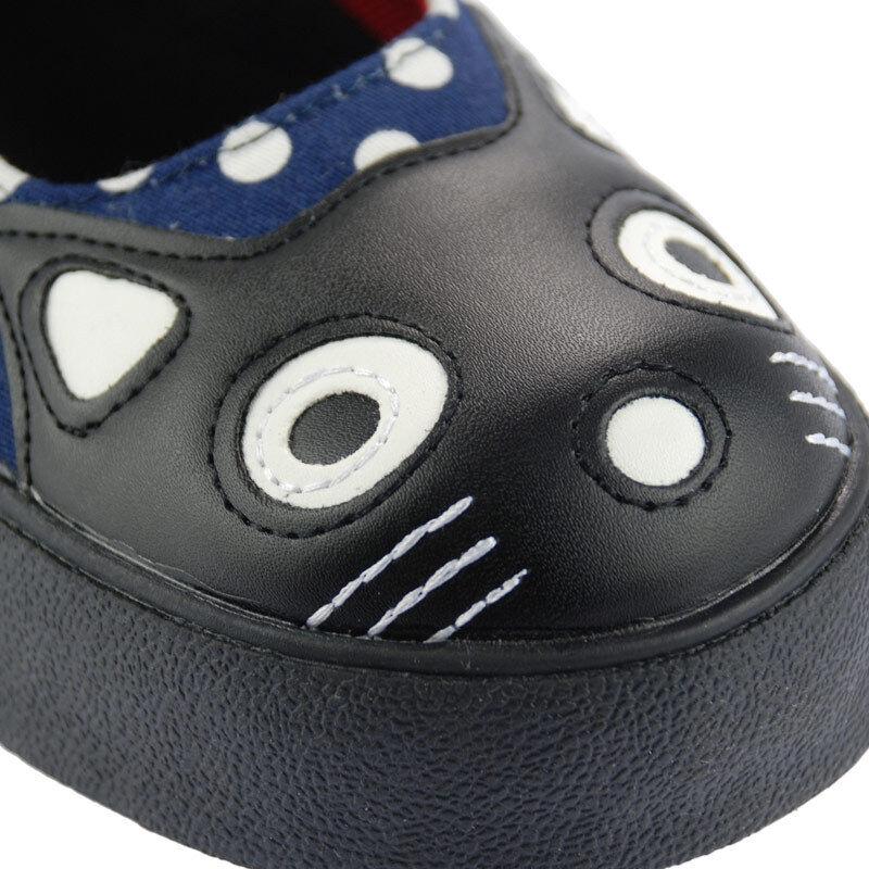 T.U.K. A8572L Tuk Jane Schuhes Navy Polka Mary Jane Tuk Sneaker Kitty Plimmies Blau cf92d3