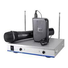 RADIOMICROFONI MICROFONI WIRELESS MICROFONO PALMARE + SPILLO VHF