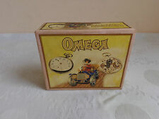 "VINTAGE RARE ADVERTISING SOUVENIR CARDBOARD BOX CASE FOR POCKET WATCH ""OMEGA"" №4"
