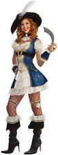 Adult Sexy Bonnie Blue Pirate Swashbuckler Costume Std